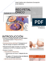 Monitoreo Fetal Electronico