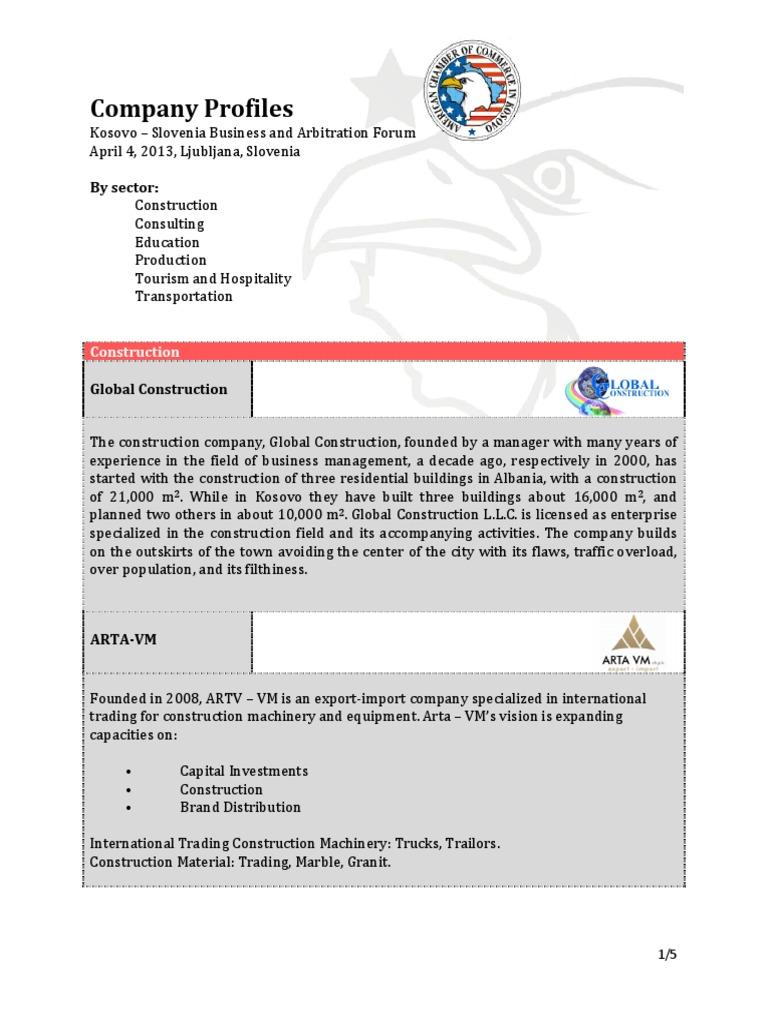 KOSOVO - Company Profiles 4.4.2013   Kosovo   Law Firm