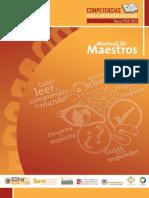 Pruebas Pisa - Manual de Maestros