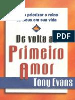 223807911 Tony Evans de Volta Ao Primeiro Amor