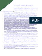 Texto Del Proyecto de Reforma Del Consejo de La Magistratura Aprobado