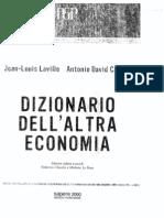 Dizionario Del'Alltra Economia