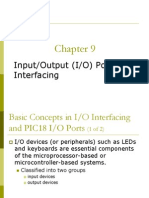 input output port and interfacing