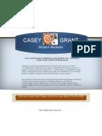 marketing coordinator fordav - casey grant