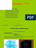 Sistema Cúbico ( Monométrico)