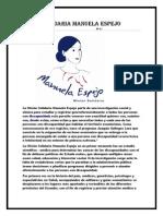 Misión Solidaria Manuela Espejo Jonathan Rea 8ª A