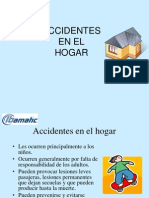 Accidente en El Hogar