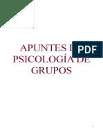 Apuntes de Psicología de Grupos