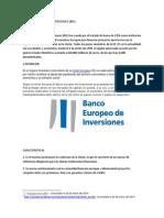 Banco Europeo de Inversiones (1)