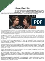 Piesa de Teatru Oscar Si Tanti Roz