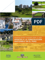 INF Aportes a La Construccion Sostenible en El Peru Arq. Liliana Miranda