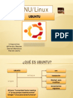Trabajo Ubunto Diapositiva