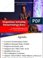 Indonesian and Global Economic Update 2014