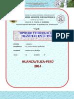 Tipos de Vehiculos en El Peru