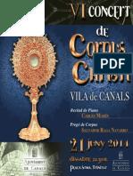 V Concet Corpus Folleto 2014