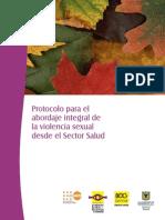 17 Protocolo Para Abordaje Integral Violencia Sexual Sector Salud
