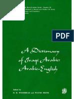 A Dictionary of Iraqi Arabic Arabic-English