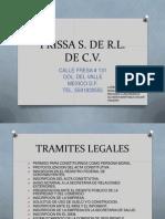 Prissa s. de r.l. de c.v. (1)