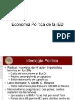 Sesión 10 Economía Política de la IED