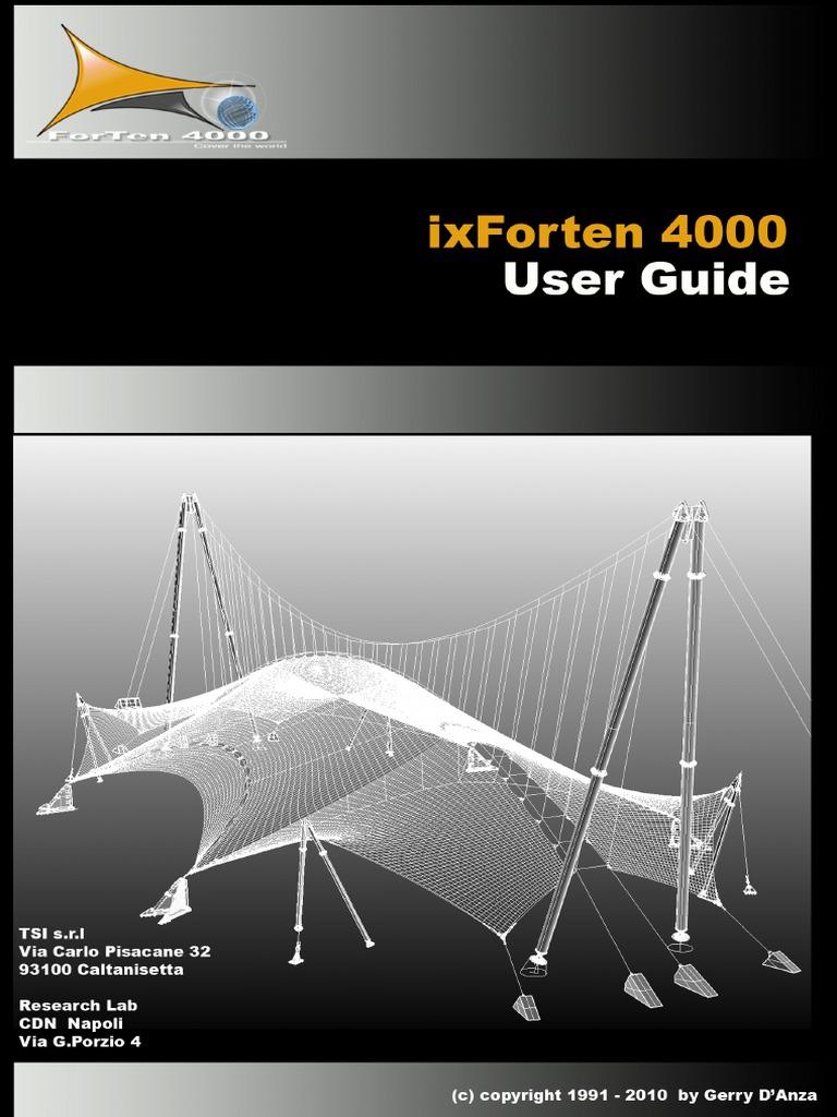 Ixforten 4000 | PDF | Structural Analysis | Stress (Mechanics)
