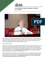 International in Lume Interviu Barry Buzan Profesor Britanic Derelatii Internationale Studii Securitate Rusia e Nigerie Rachet