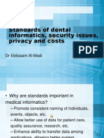 1392739075.2754ch3 Standards of Dental Informatics, Security Issues
