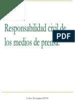 Responsabilidad Civil de Los Medios de Prensa