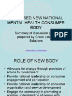 National Consumer Body for Australia