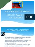 Trabajo de La Historia Del Telefono Esteban Zapata