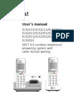 ATT EL52203 UserManual