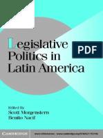 Legislative Politics in Latin America Nacif B. Et. Al