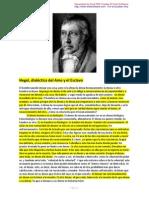 Hegel Dialc3a9ctica Del Amo y El Esclavo