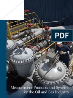 (SB0A001) Measurement Products and Systems for the Oil and Gas Industry