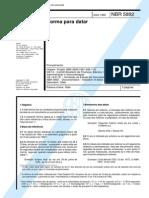 NBR 05892 - Norma Para Datar
