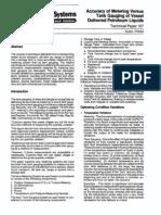 (TP0A004) Accuracy of Metering Versus Tank Gauging of Vessel Delivered Petroleum Liquids