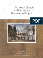 Armenian Church and Monastery Restoration Project