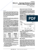 (TP01001) Improving Petroleum Custody Transfer Measurement Accuracy