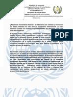 PO Delegacion de Guatemala