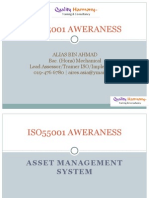 ISO55001:2014 Asset Management System