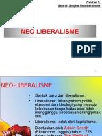 Sejarah Singkat Neoliberalisme
