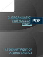 3. Organisation for Nuclear Power