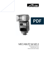Metz Flash User Manual