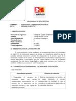 PROGRAMA Formación Para La Ciudadanía 2014