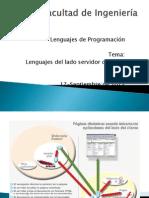 Lenguajes de Programación Servidor-Cliente