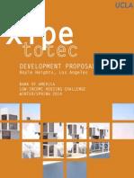 Xipe Totec Affordable Housing development Proposal