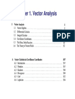 Chapter 1. Griffiths-Vector analysis- 1.1 ~ 1.2