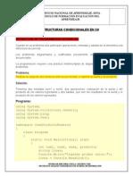 Estructuras Condicionales en C#