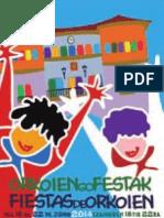 Orkoiengo Jaiak Programa 2014