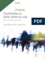151165 Esol Skills for Life Handbook for Teachers Document
