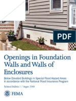 Openings in Foundation Walls